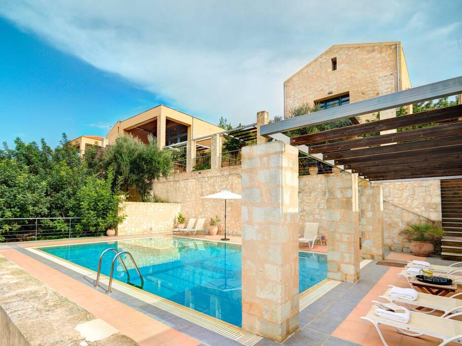Villa Athina front view