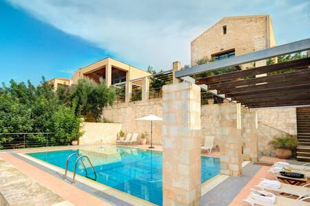 Athina - Luxury Stone Built Villa - Private Pool - Gavalochori - Villa - 1