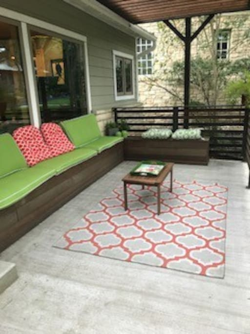 Front Porch for Entertaining
