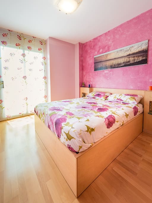 Beautiful and romantic main bedroom