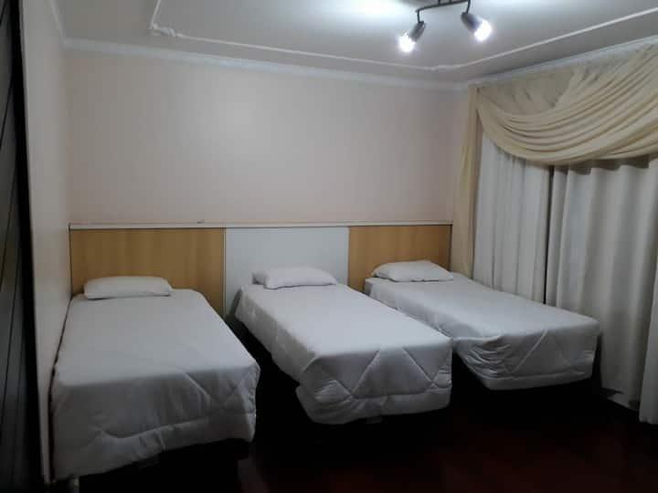 Demi suite para 6 pessoas