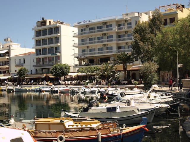 Family Studio overlooking the pedestrian street - Agios Nikolaos - Apartmen