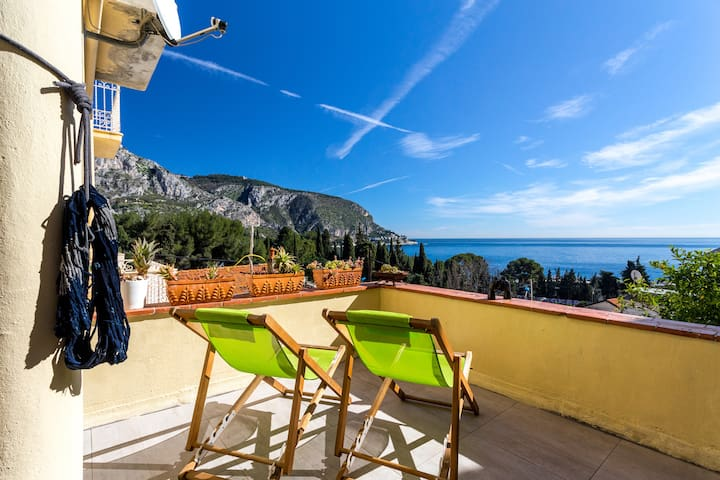 Luxurious apartment near beach - Èze - Leilighet
