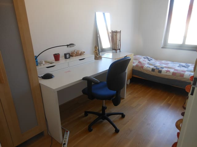 Nice, quiet room near Den Haag HS - The Hague - House