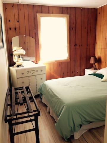 Chambre des maîtres - 1 lit double