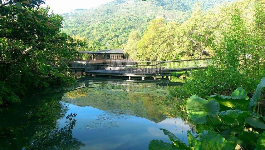 欣綠池畔屋B2-十人房-馬太鞍溼地生態文化分享