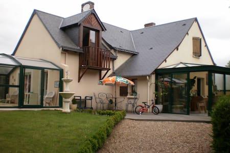 MAISON BORDURE RUISSEAU PISCINE 6 P - Nogent-sur-Loir - Ev