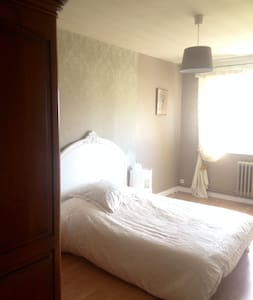 Chambre dans villa avec piscine - CAMBRAI - SERANVILLERS - Oda + Kahvaltı