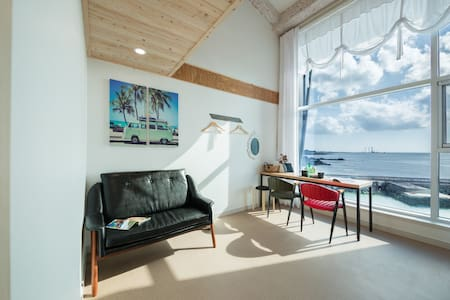 Duplex1, Pureuda Ocean 푸르다오션 (복층) - Hallim-eub, Cheju - Pension (Korea)