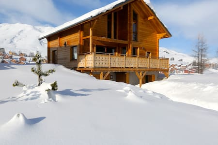 Grand chalet Design by an architect - Fontcouverte-la-Toussuire - Talo