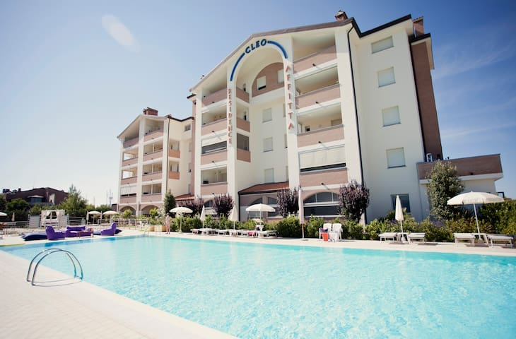 4 star-Residence at the seaside - Comacchio