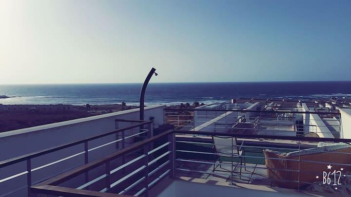 Duplex El Medano (Surf & Bikes Avbl)
