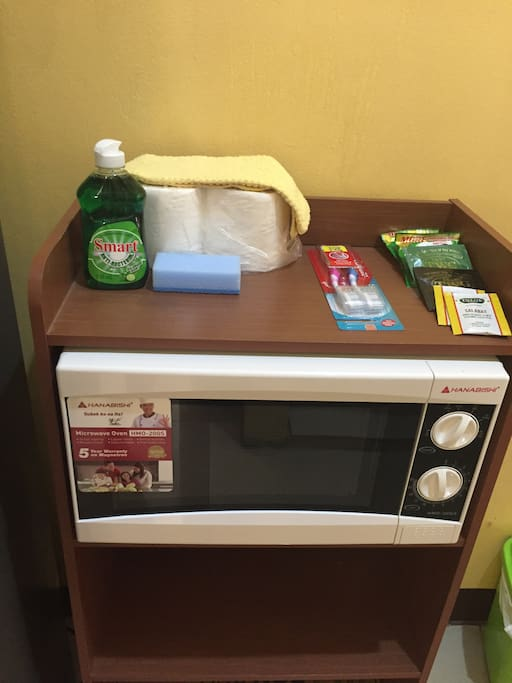 with microwave oven