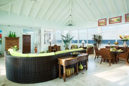 Beachfront Home ~ 4 Bedrooms  ~ 4  Ensuite Baths - Christiansted