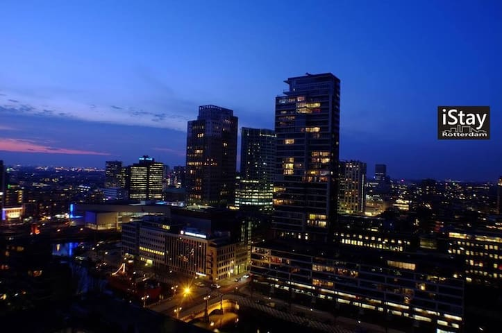 Luxury apartment #center #skyline - Rotterdam - Appartement