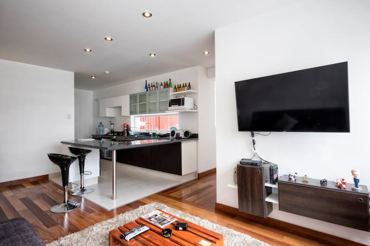 🌅Cozy Flat- Miraflores close to Kennedy Park