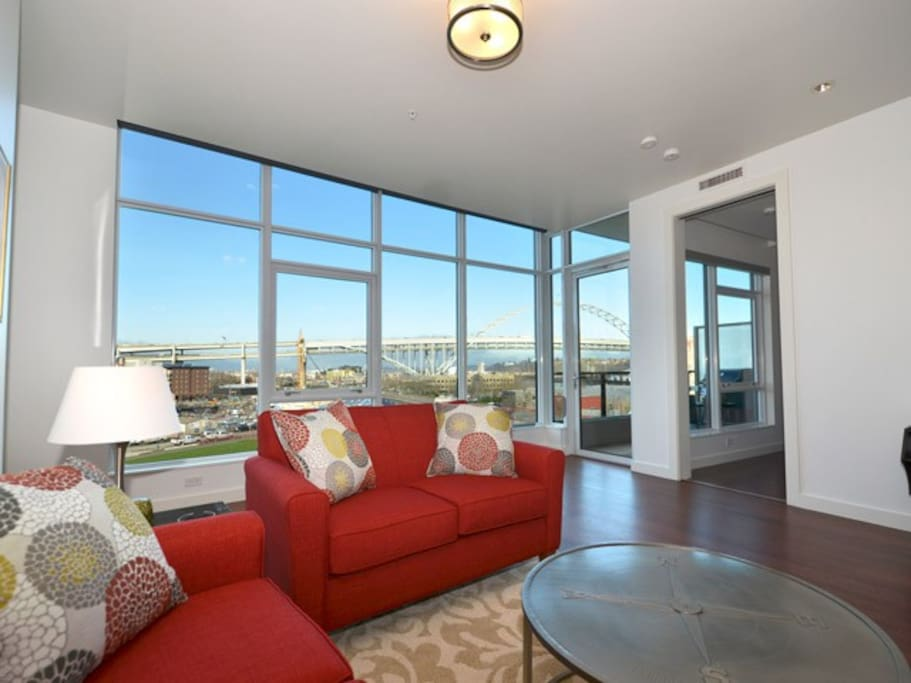 Stunning views and plenty of space.