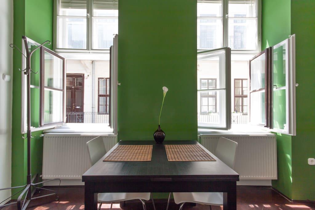 Modern, Stylish in Budapest's heart