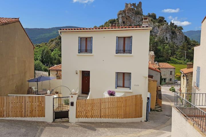 Maison de vacances en Languedoc-Roussillon avec jardin