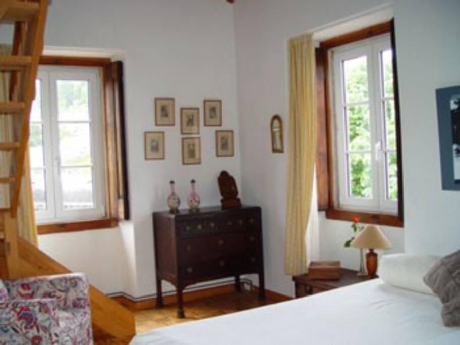 Room with Mezzanine
