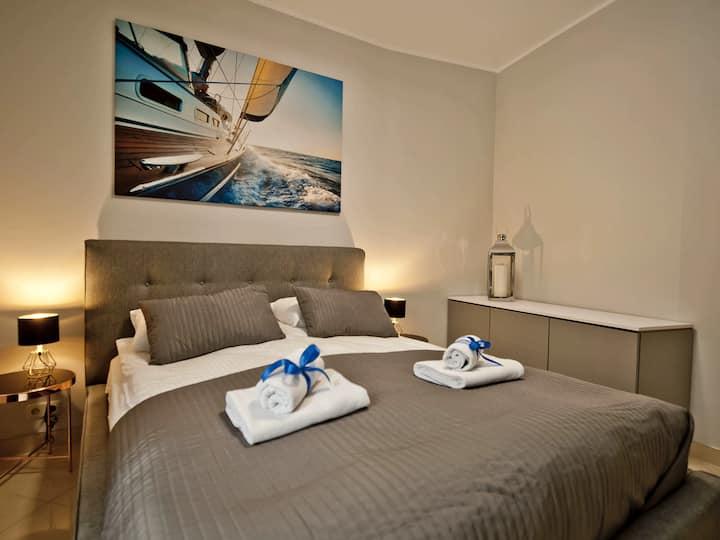 Luksusowy apartament przy Molo T8