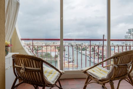Apartment in Empuriabrava with sea view - Empuriabrava