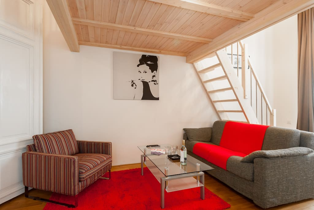 prague apartment-pragueforyou-living room