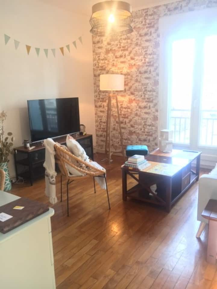 Appartement cosy centre ville Brest