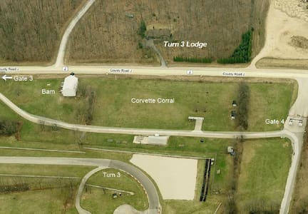Road America Track Front Rental  - Plymouth