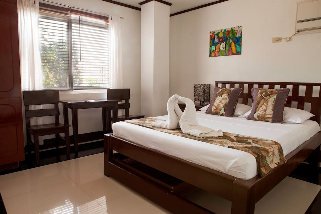 The comforts of our room is a highlight to the rest of all that Boracay has to offer.