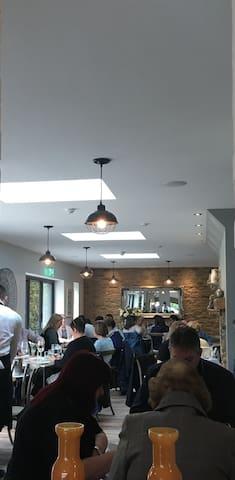 New refurbished village pub restaurant