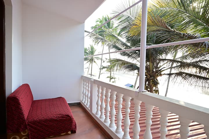 Room no 9 # Sunset # Beach View@Ashvem Beach