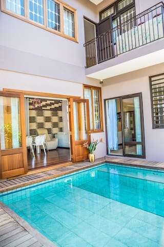 Bungalow with Pool at Pereybere - แกรนด์ ไบ