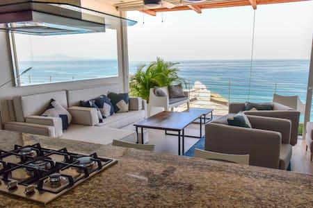 353 Amapas - Penthouse At Gay Beach Stunning Views - Puerto Vallarta - Condominio
