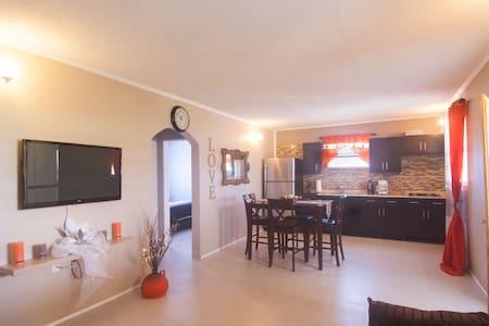 Orange Oasis Suite