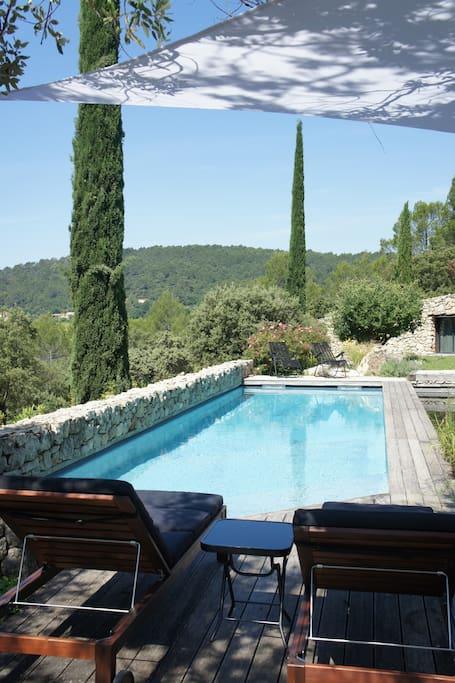 Swimming pool (4.4m x 11.9m)