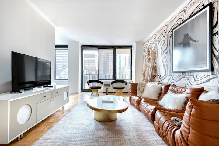 Hip Sutton Place 1BR w/ Gym, Pool, DM, nr. Central Park, by Blueground
