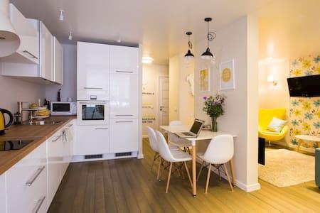 Солнечная и стильная квартира рядом с Академом - Leilighet