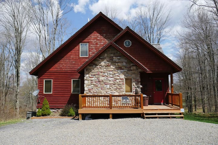 Bear`s Den in Winterset - 5 miles to Canaan Valley Ski Resort & 5.5 miles to White Grass Cross Country