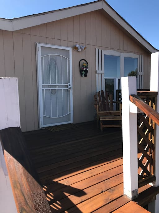 Front of house / porch