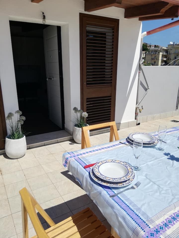 Tigellio Apartment-Views-Terrace-Independent