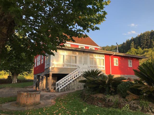 Casa típica Villa Italiana na Serra Gaúcha