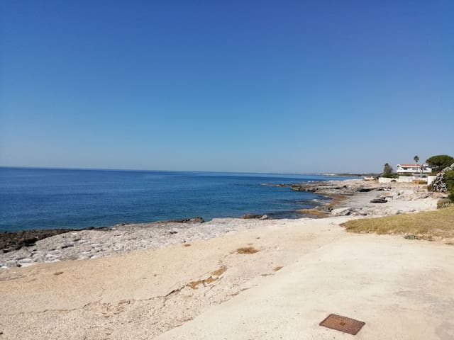 Fontane Bianche Villetta HOLIDAY HOUSE 100 MT Mare