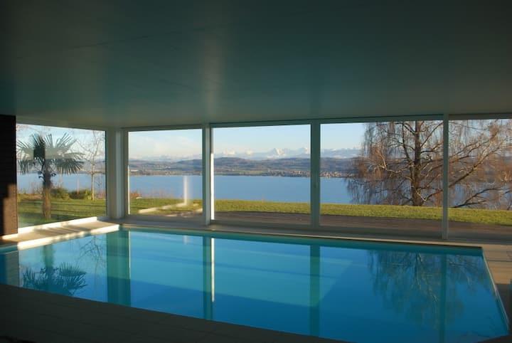 Luxusunterkunft mit privatem Spa