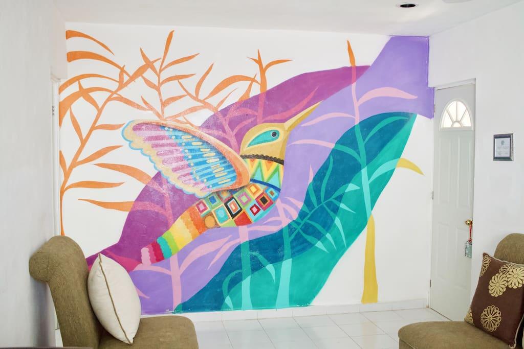 Street Art Sala- Cada Departamento tiene un Graffiti diferente