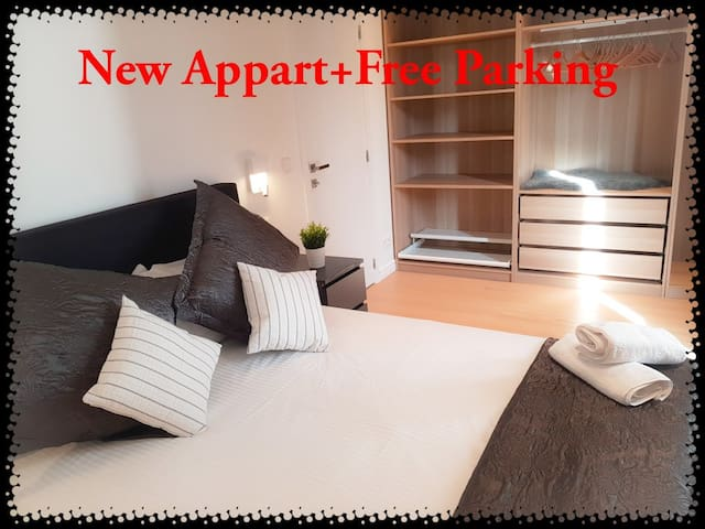 One Bedroom Appart Near Euro Parliament +  Parking