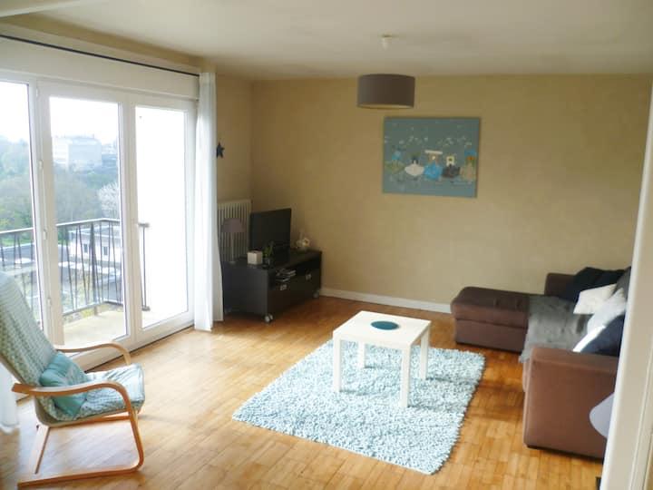 Appart 72 m2 en Bretagne proche plages et centre !