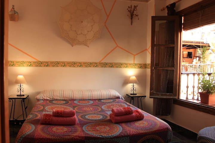 Habitación 1- cama matrimonio
