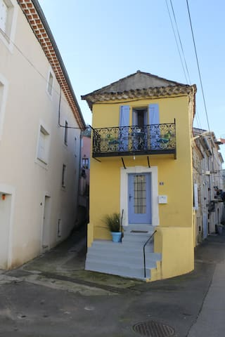 The Little Yellow House, St Nazaire De Ladarez - Saint-Nazaire-de-Ladarez - Casa