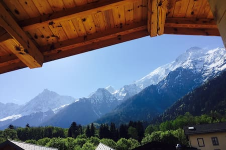 *Room n°8* view of Mt Blanc